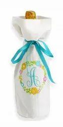 Eiffel Textiles White Birthday Gift Baby Bottle Cover