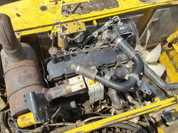 Komatsu PC 210 Excavator Engine