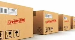 Rectangular UN Approved Fibreboard Boxes