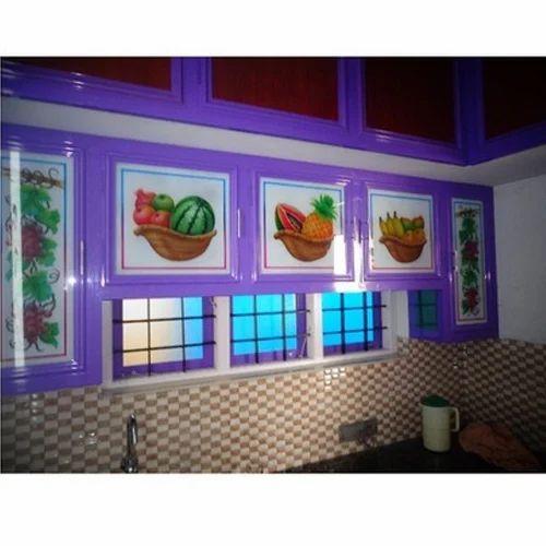 Aluminium Designer Kitchen Cabinet, Rs 750 /square Feet