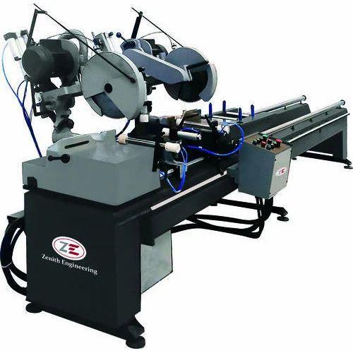 Double Head UPVC Cutting Machine