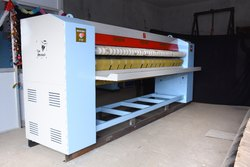 Calendring Machine / Flatwork Ironer, 3 Kw, Production Capacity: 100 To 200 Bedsheets Per Hour