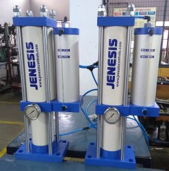 Jenesis Make - Hydro Pneumatic Press  - 10 T0ns