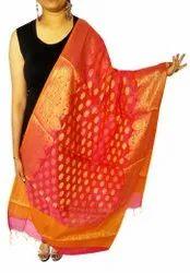 Indian Banarasi Silk Dupatta