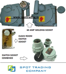 Flameproof Switch Sockets