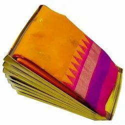 Silk Printed Kanjivaram Saree, 6.3 m (with blouse piece), Handwash
