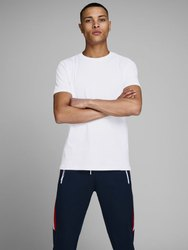 Cotton Plain White Organic Basic T-Shirt