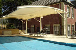 Swimming Pool Fabric Tensile Structure