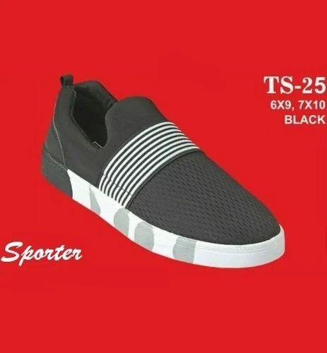 f734650eb2f Sporter Black Men Loafers Shoes TS-25