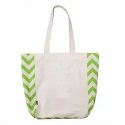 Jeyam Industry Loop Handle Women Cotton Tote Bag, Capacity: 5 To 8 Kg
