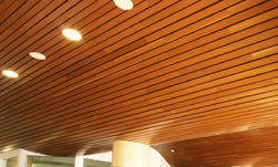PVC Wooden False Ceiling
