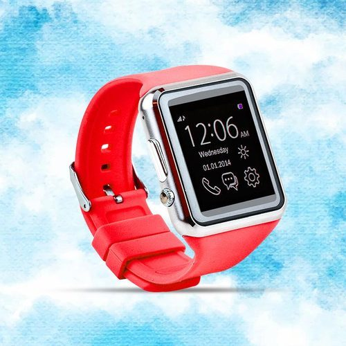 Smart Wrist Watch Phone With Camera, Memory Size: Upto 32GB Expandable