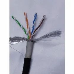 Twisted Pair Gray Cate 6 STP 305 Mtr Cable