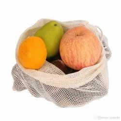 India Cotton Mesh Produce Reusable Bag