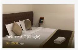Deluxe AC Single Room Rental Service