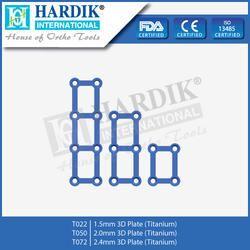 3D Plate (Titanium)