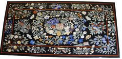 Marble Inlay Dinning Table Top