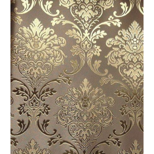 Golden Solid Sheet Vinyl Designer Wallpaper