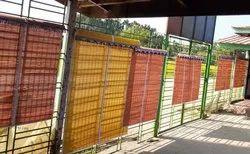 Plain Vertical Bamboo Window Blinds, Thickness: 2-4 mm, Size: 7 Feet X 3 Feet(L X W)