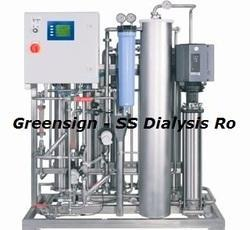 Stainless Steel Dialysis RO Plant