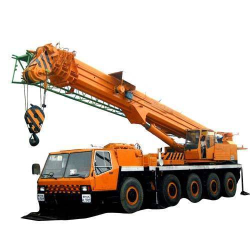 Telescopic Crane Diesel Mobile Telescopic Cranes Hiring Services, Rental Duration: >1 Day, Pan India