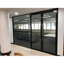 Aluminium Double Hinged Door