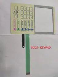 Sysmax Kx21 Hematology Analyzers- Keypad