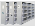 Mild Steel Mobile Shelving