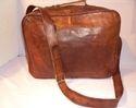 Vintage Leather Briefcase Shoulder Bag