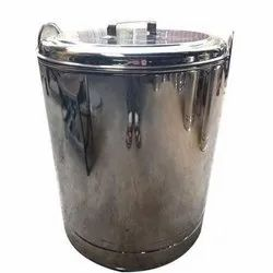 1 To 5mm Stainless Steel Drum, for Pharmaceutical / Chemical Industry