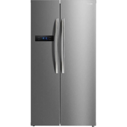 Stainless Steel Panasonic Refrigerator, Electricity, French Door