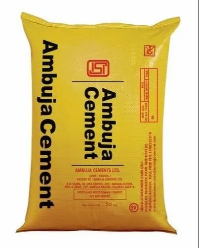 PPC (Pozzolana Portland Cement) Ambuja Cement, Packaging Size: 50 Kgs, Cement Grade: General High Grade