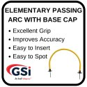 Elementary Passing Arc With Base Cap