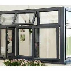 Modern Powder Coated Aluminium Casement Window