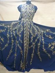 Caftan Hand Embroidery Work