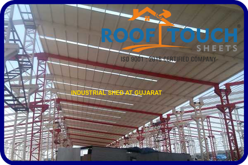 Transparent Poly Carbonate Roofing Sheet, Size: 1130 Width ...
