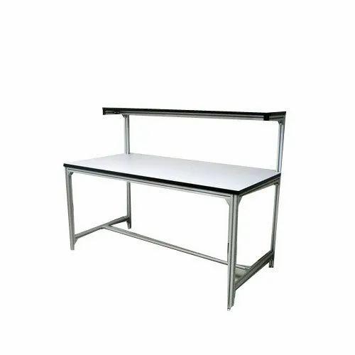 Aluminium Work Bench Bar Table