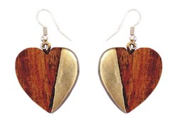 Wooden Earrings Girls