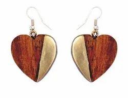 Wooden Earrings Girls