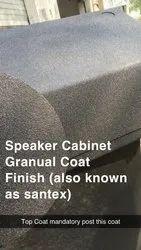 Speaker Cabinet Granual Coat (Sand Finish)
