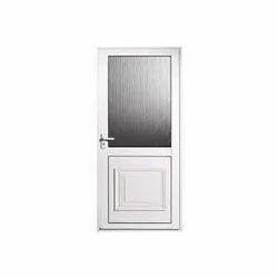 Aluminium Door, Size: 7x3 Feet