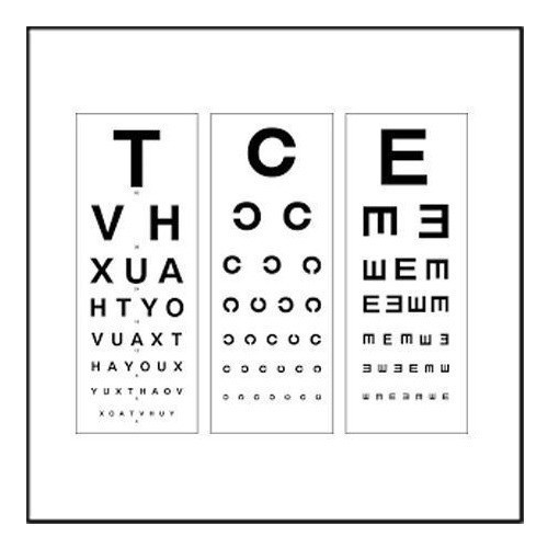 Distance Vision Chart At Rs 70 Piece Vision Chart Id 9283128312