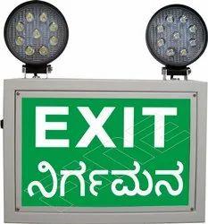 Industrial Emergency Light-Back Lit LED18