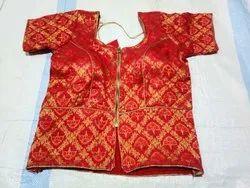 Chanderi Silk Koti Style Blouse