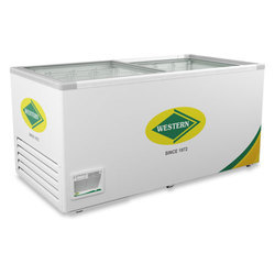 WHF825G Glass Top Deep Freezer