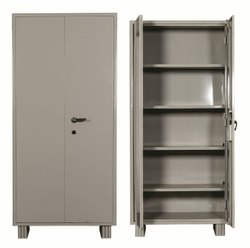 Laboratory Furniture Gray Industrial Cupbaord, For Office
