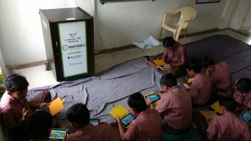 TABLAB - Tablet Based Digital Learning Lab For Government And NGO Run Schools