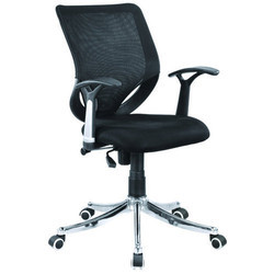 7369 Revolving L/b Mesh Chair