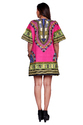 Cotton Floral Dashiki Top