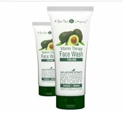 Netsurf White Herbs And More Vitamin Therapy Face Wash For Him, Cream, Age Group: Adults